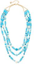 Kate Spade Azure Allure Triple Strand Necklace