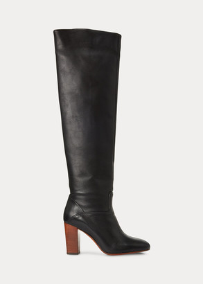 Ralph Lauren Brie Leather Boot
