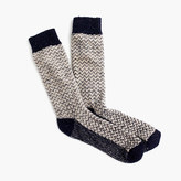 Donegal Wool Herringbone Socks