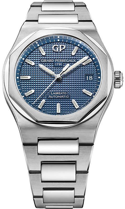 Girard Perregaux Girard-Perregaux 81005-11-431-11A Laureato stainless steel watch
