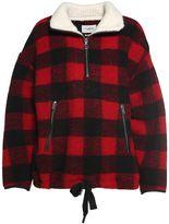 Etoile Isabel Marant Gilas Zip-neck Checked Jacket