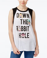 Disney Juniors' Down The Rabbit Hole Graphic Tank