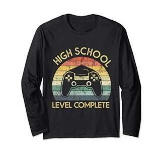 School Level Complete Graduation Long Sleeve T-Shirt