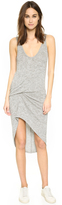 Riller & Fount Bianca Pinched Front Mini Dress