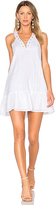 J.o.a. Lace Up Mini Dress in White. - size L (also in XS)