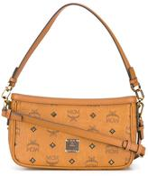 MCM logo print shoulder bag - women - Leather - One Size