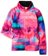 adidas Girls 4-6x) Tie-Dye Zip-Up Performance Jacket