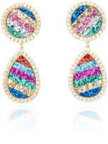 Shourouk Shimer Rainbow Earrings