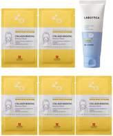 Leaders Cosmetics Mild Peeling Gel & Collagen Boosting Renewal Mask 6-Piece Set