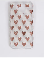 M&S Collection Samsung S7® Heart Print Phone Case
