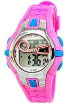GXFCO Boys Girls Outdoor Digital Quartz Waterproof Jelly Colorful Sports Watches For 7-15 Years Old Rose