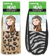 Conair Cosmetic Headwrap- Animal Print 1pk. - Colors may vary