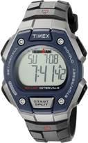 Timex Men's 'Ironman' Quartz Resin Sport Watch, Color:Black (Model: TW5K860009J)