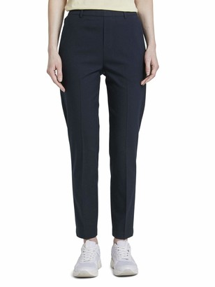 Tom Tailor Women's Easy Shino Solid Trouser