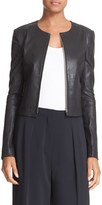 Elizabeth and James Women's Helen Lambskin Leather Jacket