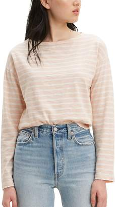 Levi's Levis Women's Molly Striped Sailor Tee