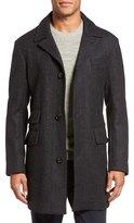 Billy Reid 'Astor' Three-Button Herringbone Overcoat