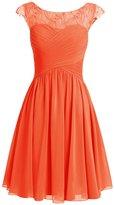 Dresstells® Women's Short Prom Dress Chiffon Homecoming Party Dress