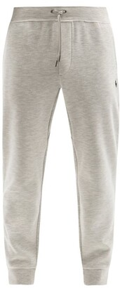Polo Ralph Lauren Logo-embroidered Jersey Track Pants - Grey