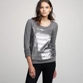 J.Crew Sequin sweatshirt