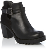 Dotti Cut Out Buckle Boot