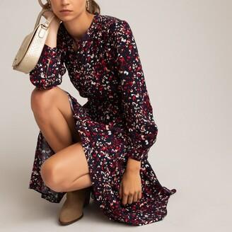 La Redoute Collections Leopard Print Maxi Dress
