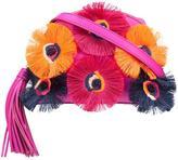 Loeffler Randall floral embellishment crossbody bag