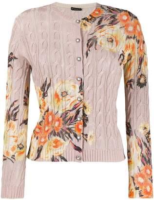 Etro floral print cardigan