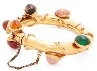 Loewe Cabochon Chain-drop Cuff - Gold