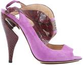 Nicholas Kirkwood Purple Water snake Sandals
