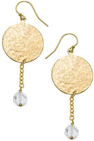 Heather Hawkins Hammered Coin Drop Earrings - Multiple Colors