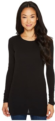 LAmade Crew Neck Tunic (Black) Women's T Shirt