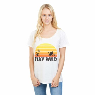 Disney Women's Lion King Stay Wild T - Shirt