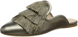 Rachel Zoe Women's Kaius Flat Fringe Open Back Slippers