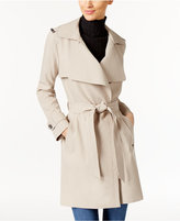 MICHAEL Michael Kors Wing-Collar Trench Coat
