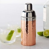 Williams-Sonoma Copper Hammered Cocktail Shaker