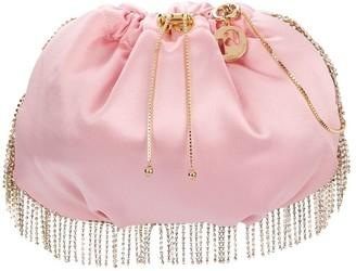 Rosantica Satin Crystal Embellished Bag