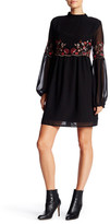 Romeo & Juliet Couture Long Sleeve Embroidered Dress