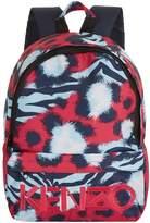 Kenzo Splash Print Backpack, Pink, One Size