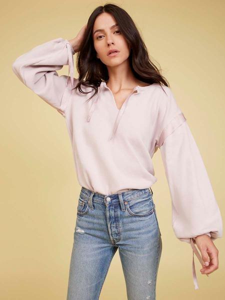 Nation Ltd. The Aerin Sweatshirt In Lilac - XS