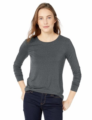 Daily Ritual Amazon Brand Women's Jersey Long-Sleeve Crew Neck Shirt
