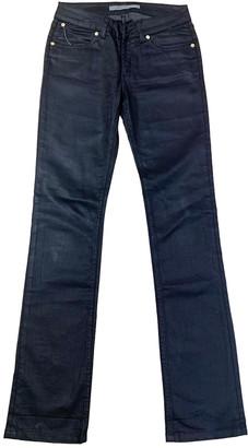 Superfine Black Cotton - elasthane Jeans