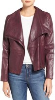 BB Dakota Women's Newell Washed Leather Jacket