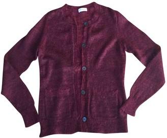 Dries Van Noten Burgundy Wool Knitwear