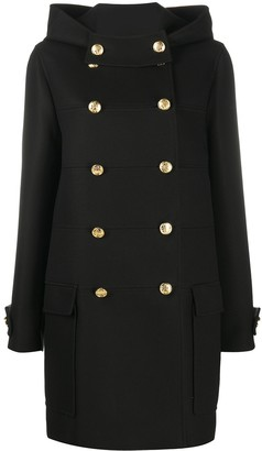 Mulberry Double-Breasted Coat
