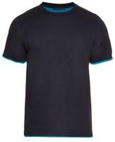 Christopher Kane Contrast-trim Cotton-blend T-shirt