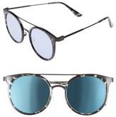 Quay Kandy Gram 51mm Round Sunglasses