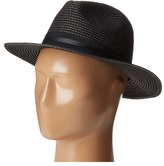 Vince Camuto Straw Panama with Double Band Caps
