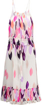 Raoul Printed silk crepe de chine dress