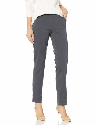 Briggs New York Women's Cotton Super Stretch Pull on Pant